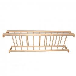 Πιατοθήκη ξύλινη για 100cm κουτί