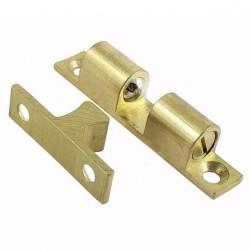 Στοπ θυρών μπίλιας 70mm χρυσό