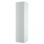 Γωνία Μπάζας σταθερή 10 cm άσπρη
