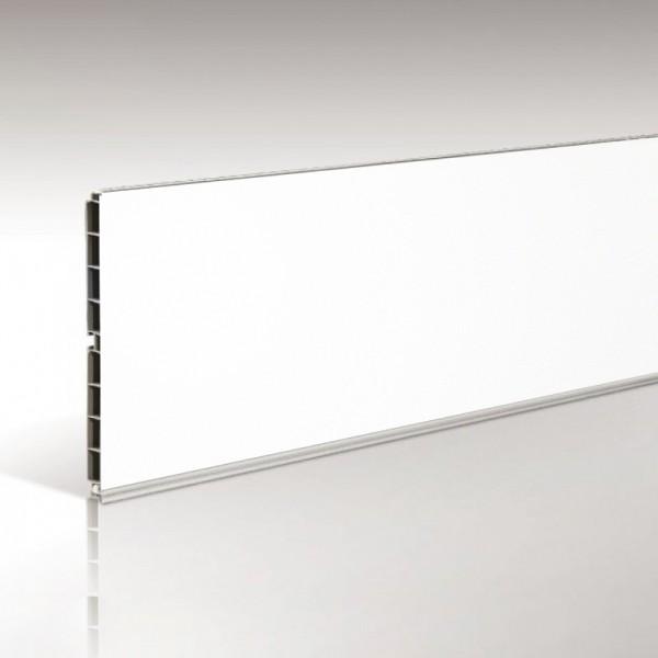 Μπάζα πλαστική 10cm 4m σε χρώμα λευκό