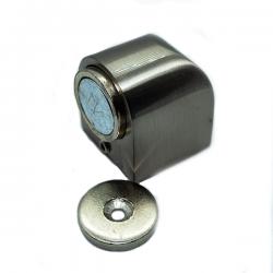 Στοπ πόρτας μαγνητικό nickel mat