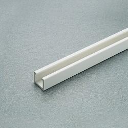 Οδηγός πλαστικός λευκός για μηχανισμό CONCERTINA SALICE