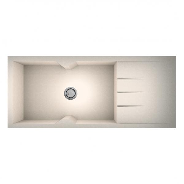 Νεροχύτης Sanitec 817 116x50cm