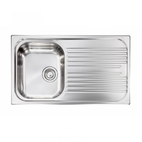 Νεροχύτης Inox Sanitec 10643 86x50cm