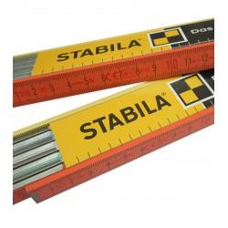 Μέτρο ξύλινο 2m STABILA