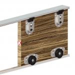 Μηχανισμός VIALEX 1 για 1 πόρτα - ΧΩΡΙΣ ΟΔΗΓΟ